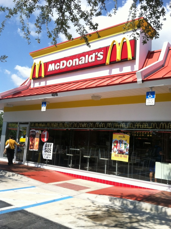 Behold, the Golden Arches